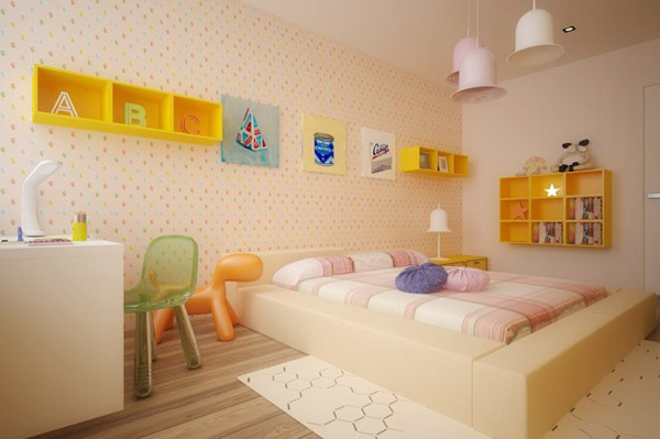 Yellow-kids-room-furniture-665x442