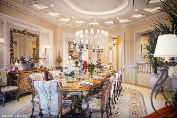 Katar da Luks Villa Tasarım ve Dekorasyonu