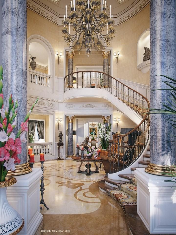 Katar Da Luks Villa Dekorasyonu 18 Mobilya G Nl