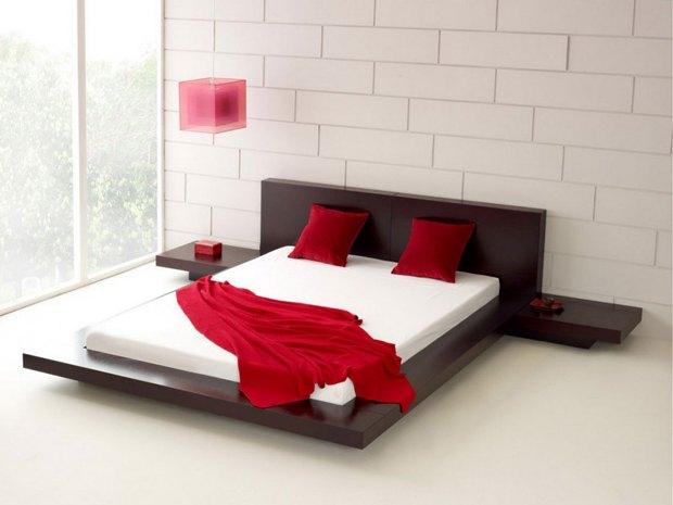Yatak Odasi Tasarimlarinda Kirmizi Ve Tonlari Mobilya Gunlugu