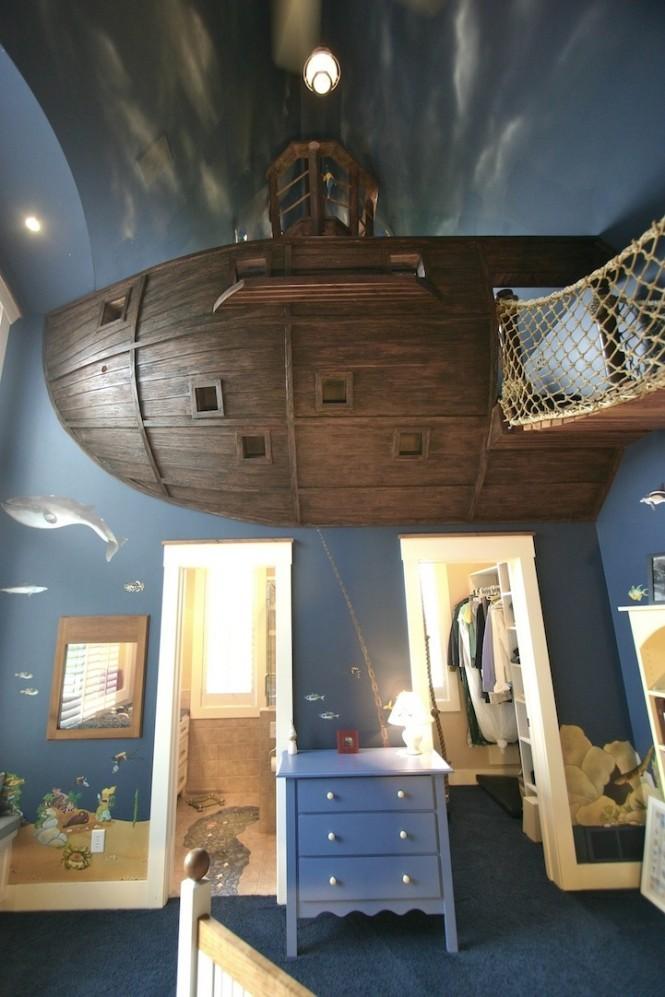 Gemili yatak odası