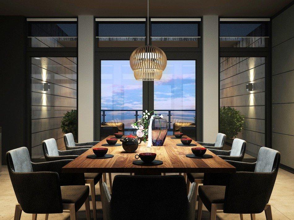 At kat daire ne kadar g zel olabilir mobilya g nl for Table a rallonge 20 personnes