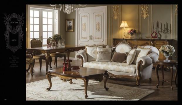 adriana Klasik Oturma Odası