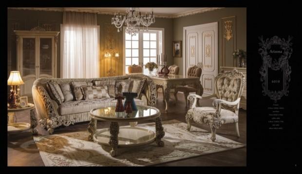 arizona  Klasik Oturma Odası