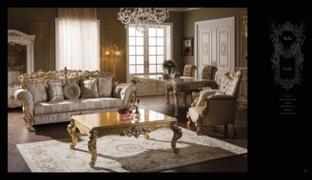 bella  Klasik Oturma Odası