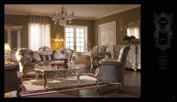 carolin  Klasik Oturma Odası