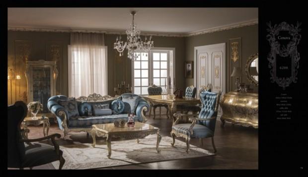 cenova Klasik Oturma Odası