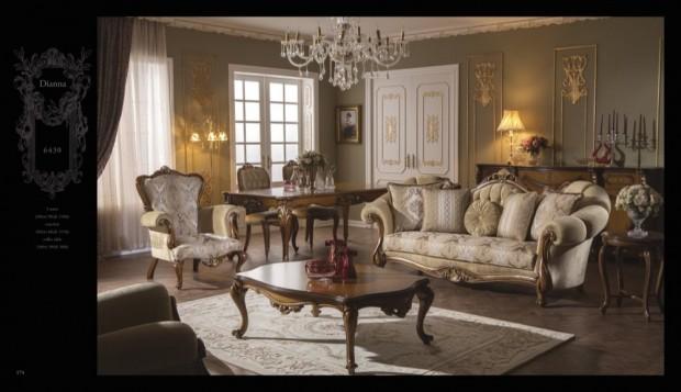 diana Klasik Oturma Odası