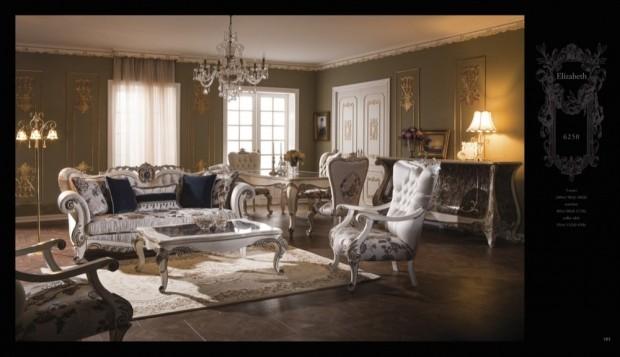 elizabeth  Klasik Oturma Odası
