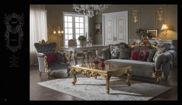 isabel  Klasik Oturma Odası
