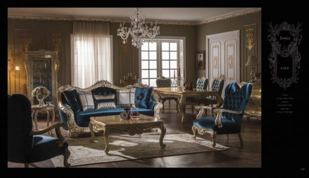 jessica  Klasik Oturma Odası