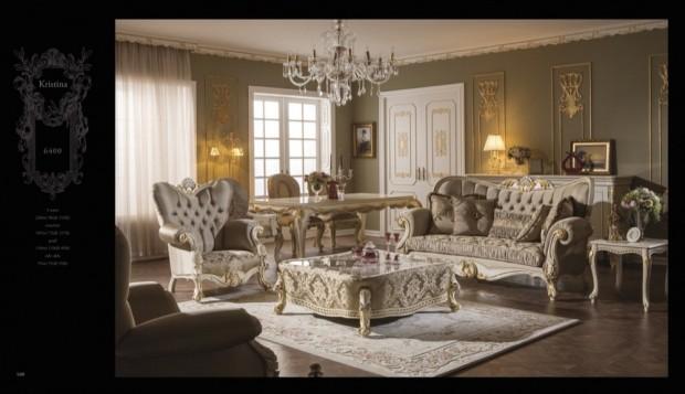 kristina  Klasik Oturma Odası