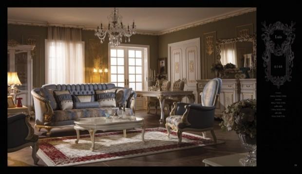 luis  Klasik Oturma Odası