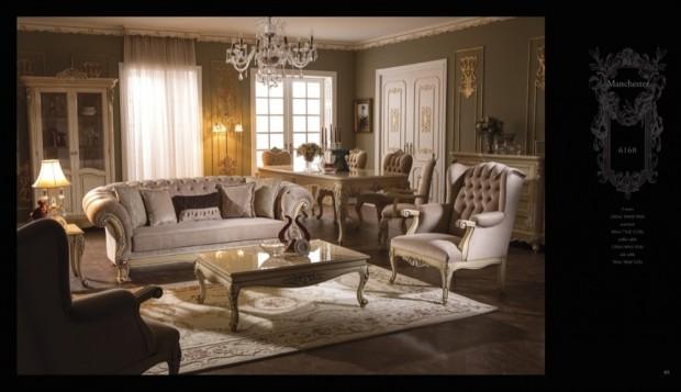 manchester  Klasik Oturma Odası