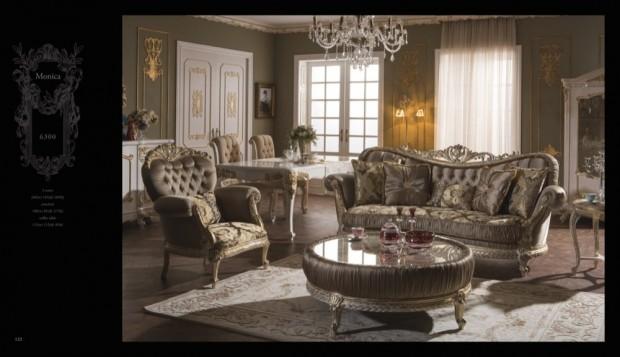 monica  Klasik Oturma Odası