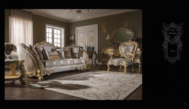 new arizona  Klasik Oturma Odası