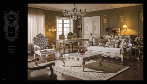 sarah  Klasik Oturma Odası