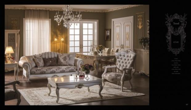 trend  Klasik Oturma Odası