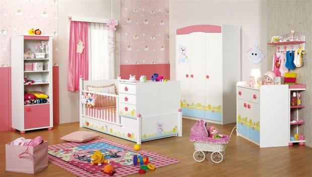 Merinos ELEGANCE KIZ bebek odası