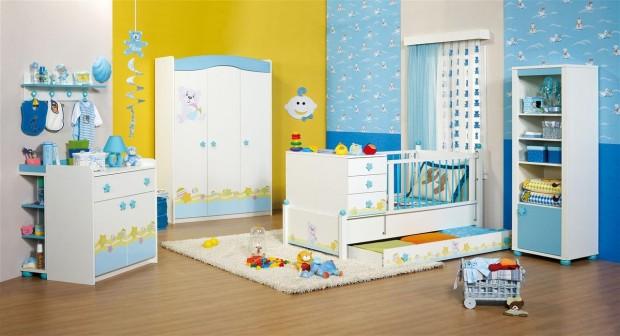 Merinos ELEGANCE erkek bebek odası