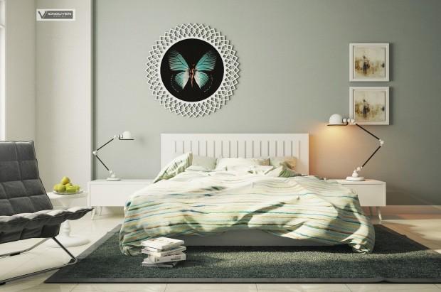 Modern Yatak Odası Tasarımı