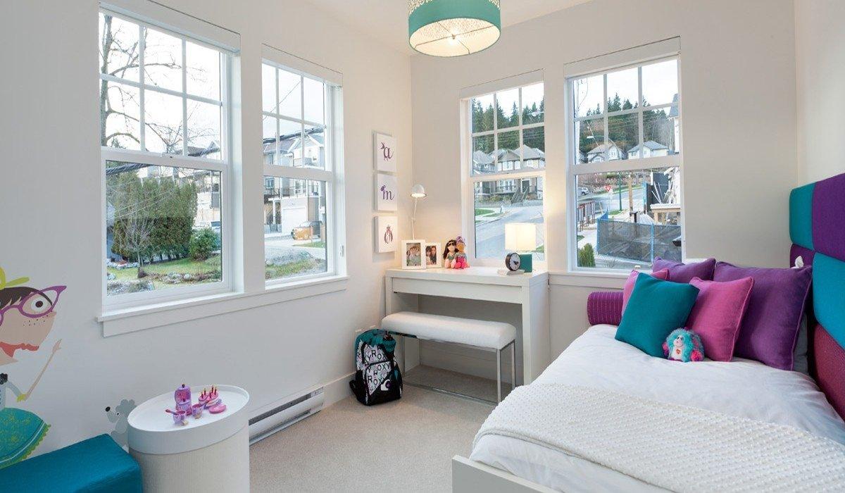 En g zel renkli mekan tasar mlar mobilya g nl - House interior design bedroom for girls ...