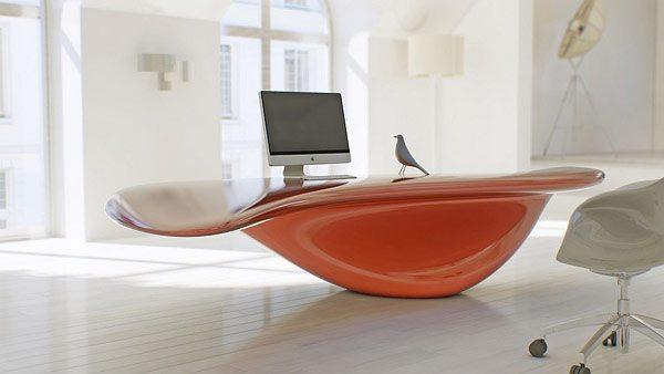 S rrealist ofis mobilyas ak m nda volna masa mobilya g nl - Unique mobilier de bureau ...