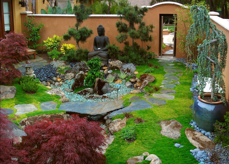 bahce dekorasyonu 21 zen garden mobilya g nl