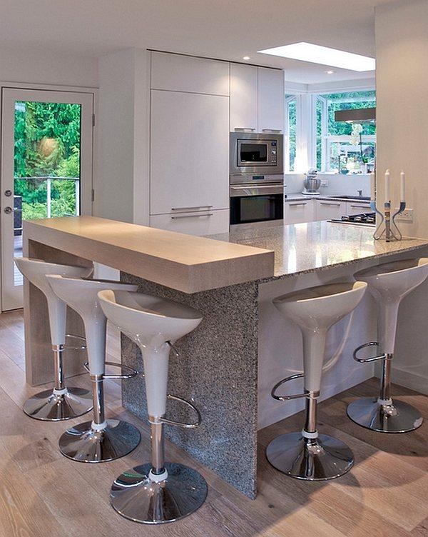 Modern Mutfak Tasarımı İçin 5 Farklı Bar Tabure Tasarım ...