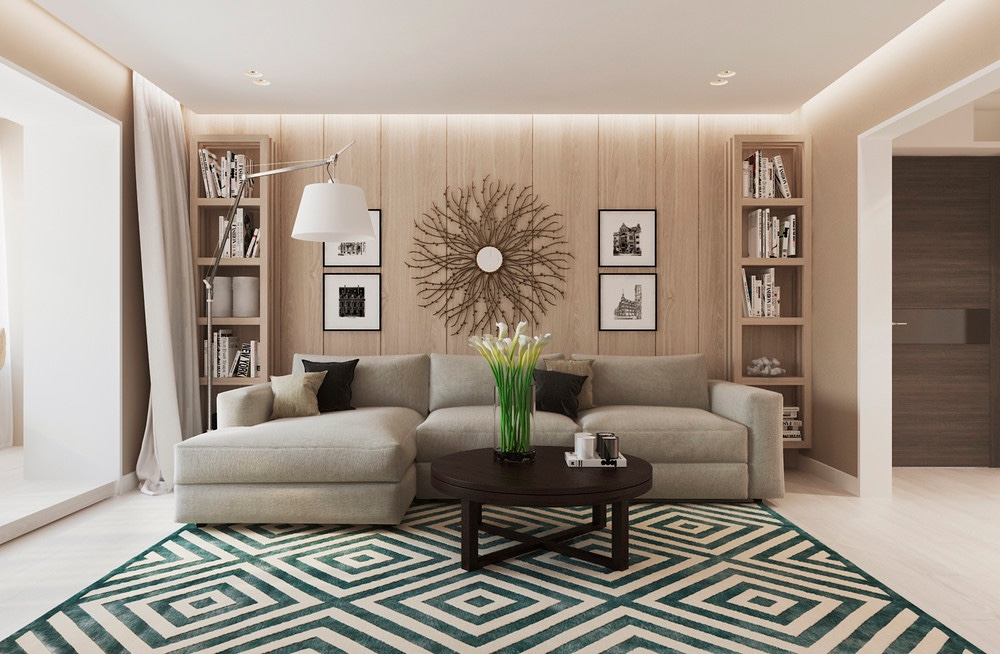 wood-panel-living-room