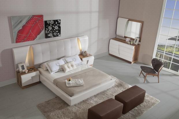 maserati 620x413 Modern Yatak Odası, Yemek Odası ve TV Ünitesi Bir Arada