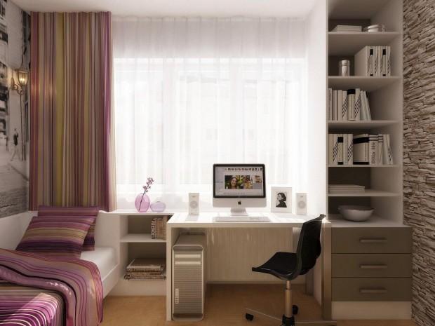 Ev Ofis Dekorasyonu Örneği